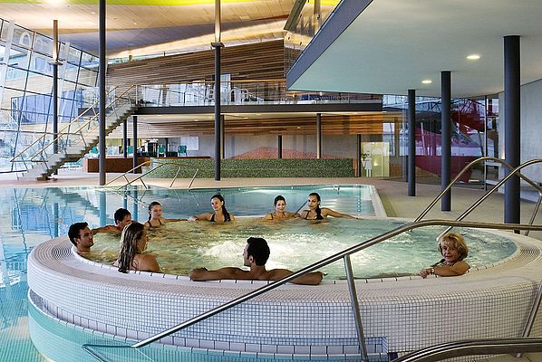Whirlpool in der Bodensee-Therme